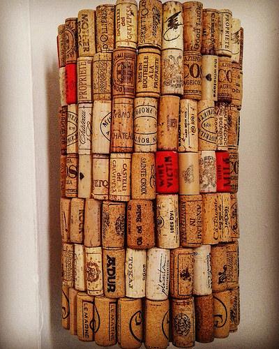 Cork, plastic, glue…